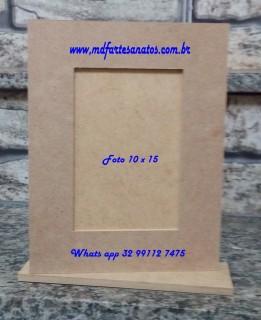 Porta Retrato mdf biscuit vertical
