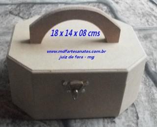 Frasqueira Juvenil porta aneis - mdf 6mm
